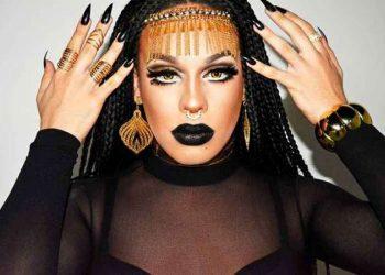 Drag queen Gloria Groove