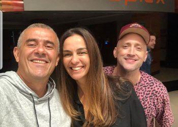 Guto, Suzana Garcia e Paulo Gustavo   Foto: Reprodução do Instagram