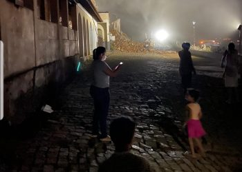 Igreja de São Sebastião destruída em Varre-Sai