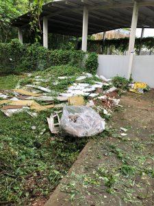 Lixo na Uenf