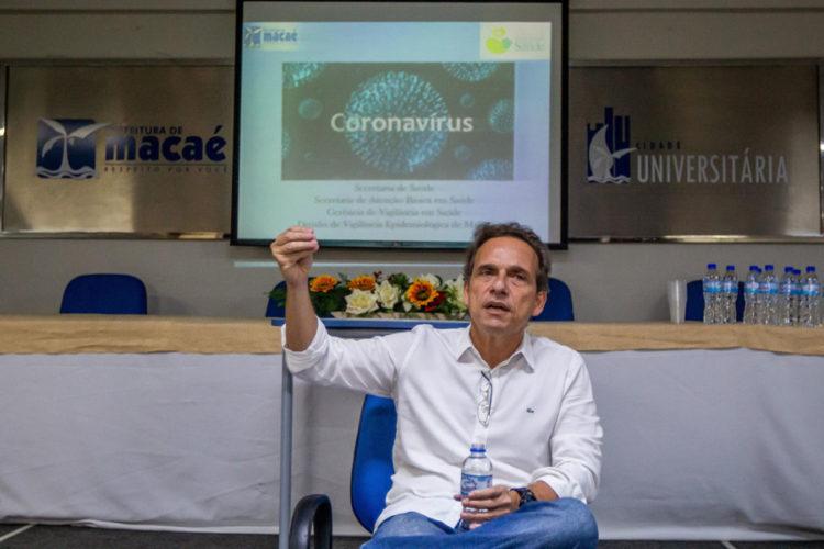 Prefeito de Macaé-RJ, Dr. Aluízio