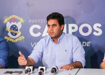 Prefeito de Campos (RJ) Rafael Diniz