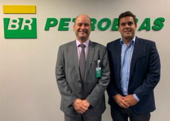 Prefeito de Campos Rafael Diniz e o diretor da Petrobras