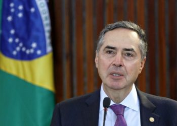 Presidente do TSE, Luís Roberto Barroso