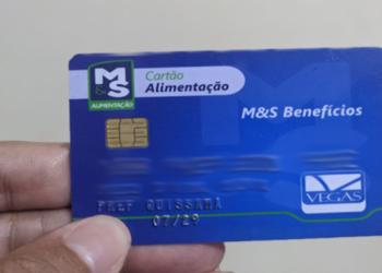 Quissamã-RJ, cartão nutricional