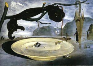 Obra O Enigma de Hitler - Salvador Dalí