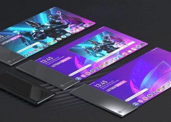 Patente de celular com tela enrolável da LG (Foto: Reprodução/LetsGoDigital)