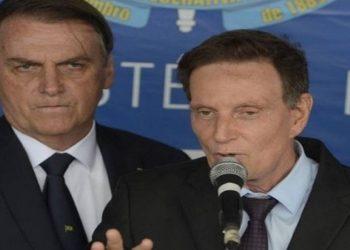 POLÍTICA 'Não vou entrar no mérito', diz Bolsonaro sobre prisão de Crivella