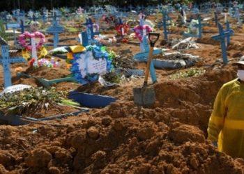 Pandemia Brasil Mortos pela Covid-19