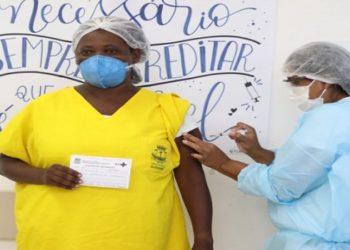 Vacinação em Quissamã