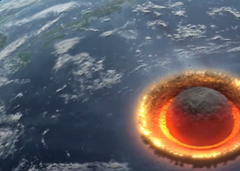 Colisao asteroide