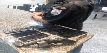 Homens presos por roubo de celulares em Carapebus