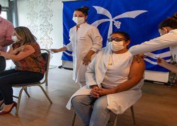 Primeiros Vacinados em Macaé