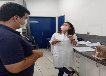 prefeito de Macaé, Welberth Rezende (Cidadania) visitou, na manhã deste domingo, o Centro de Triagem do Coronavírus (CTC) e o Hospital Público Municipal (HPM)