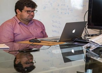 Durante a reunião foi apresentada ao Ministério Público uma prévia do plano de volta às aulas (Foto: Bruno Campos - SECOM)
