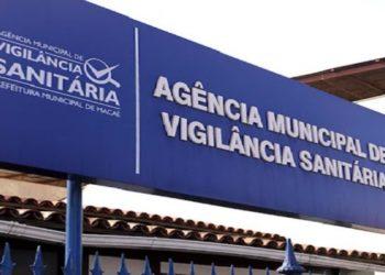 Fachada da sede da AMVISA de Macaé. Macaé/RJ. Data: 10/09/2018. Foto: Luís Gustavo Malheiros/Prefeitura de Macaé.